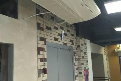 Монтаж систем вентиляции и кондиционирования в кафе Papa's Kitchen ТЦ Куб